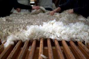 Chemical free superfine wool